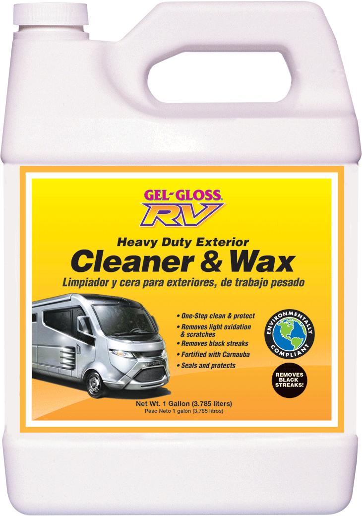 Gel Gloss Rv Cleaner And Wax 128oz Gel Gloss Rv